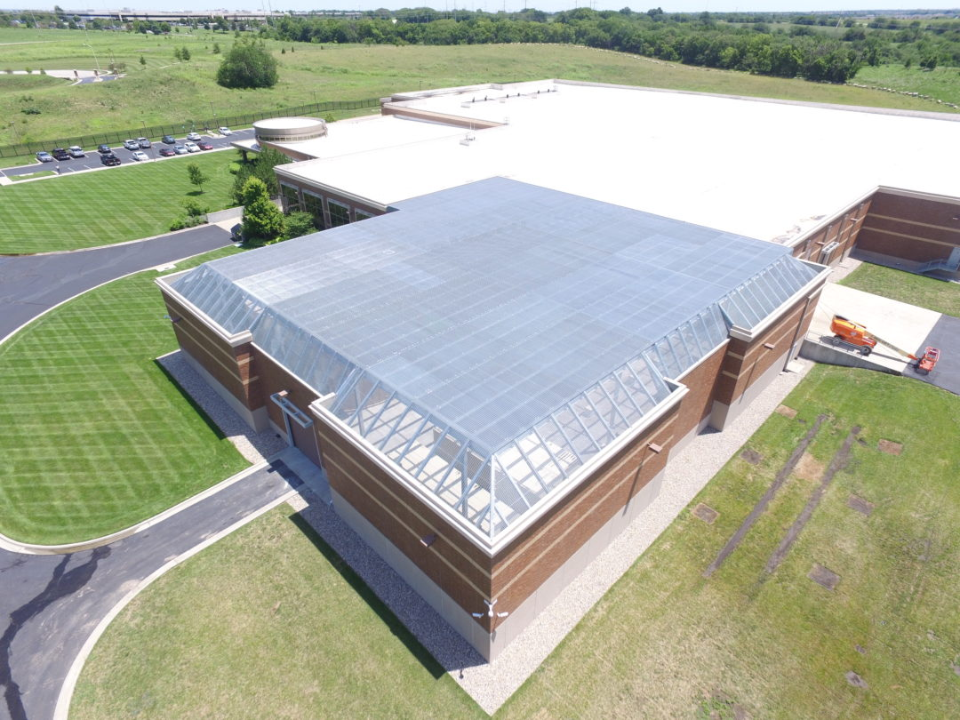 Data Center Mechanical Yard Roof Protection