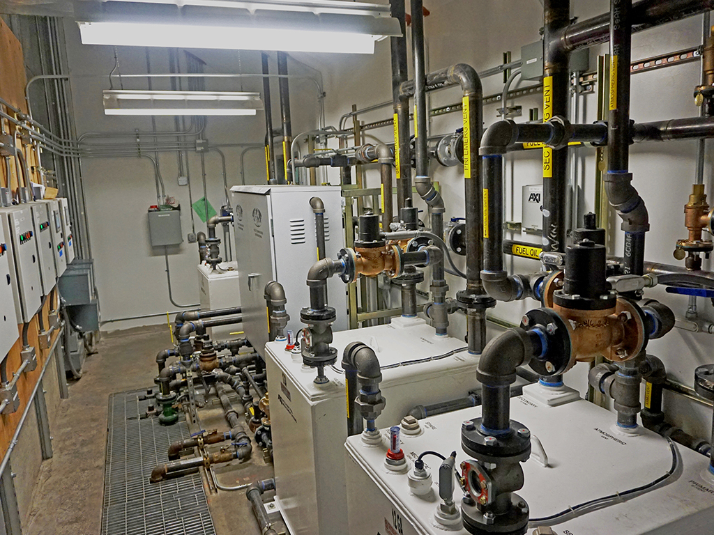 Data Center Fuel Oil System Upgrade